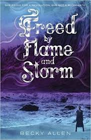 freed by flame and storm becky allen